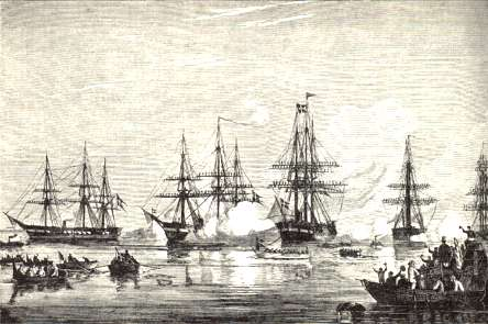 The North Sea squadron in Copenhagen after the Battle of Heligoland