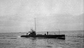 The submarine BELLONA
