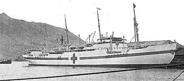 The Hospital Ship JUTLANDIA