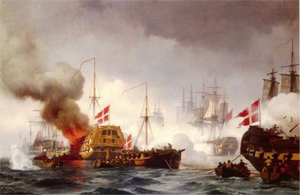 View from the Battle of Copenhagen April 2, 1801