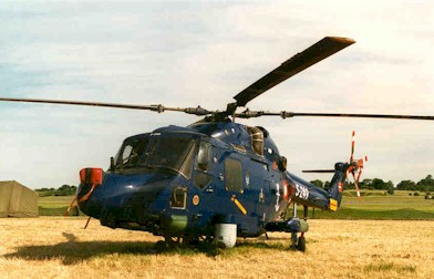 The Westland LYNX Mk. 90B, here the S-249
