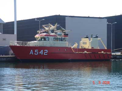 The third of the new vessels of the HOLM Class