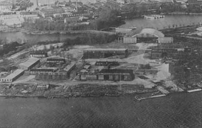 "The new seaplane station - later named ""Luftmarinestation K�benhavn"""