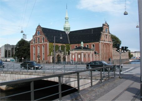 The original old naval anchor forge in Copenhagen was consectrated as Naval Church i 1619