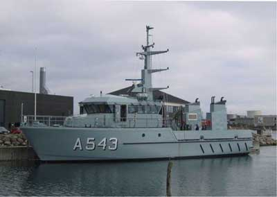 The second of the MK I standard vessels was named ERTHOLM