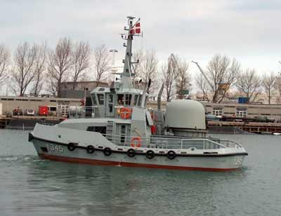 The Support Vessel ALSIN
