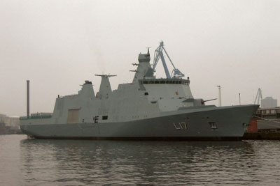 The Command and Support Ship ESBERN SNARE