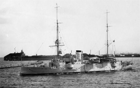The Light Cruiser HEJMDAL