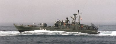Guided Missile Boat KRIEGER