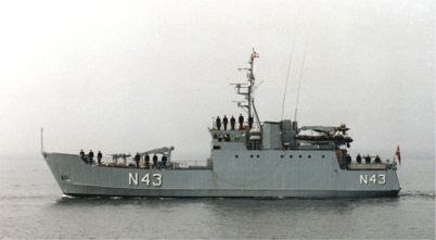Minelayer LINDORMEN