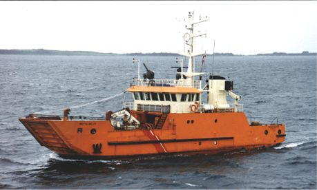 The Environmental Protection Vessel METTE MILJØ