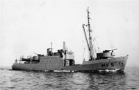 Minelayer LANGELAND