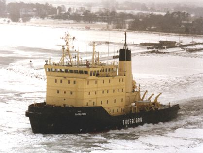 The ice breaker THORBJØRN