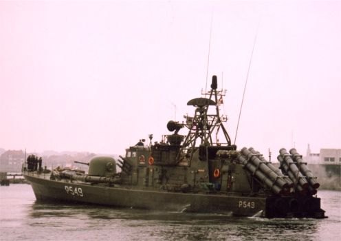 Guided Missile Boat WILLEMOES